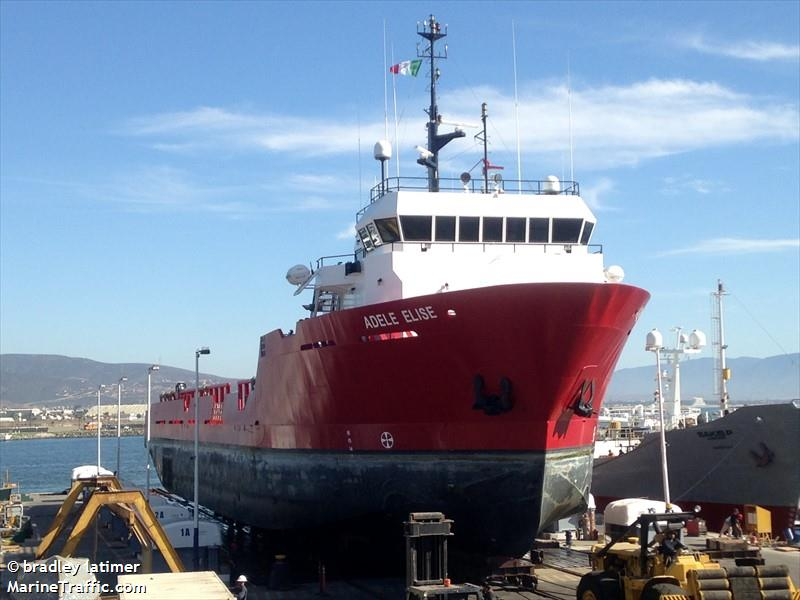 vessel ADELE ELISE IMO: 1193859,