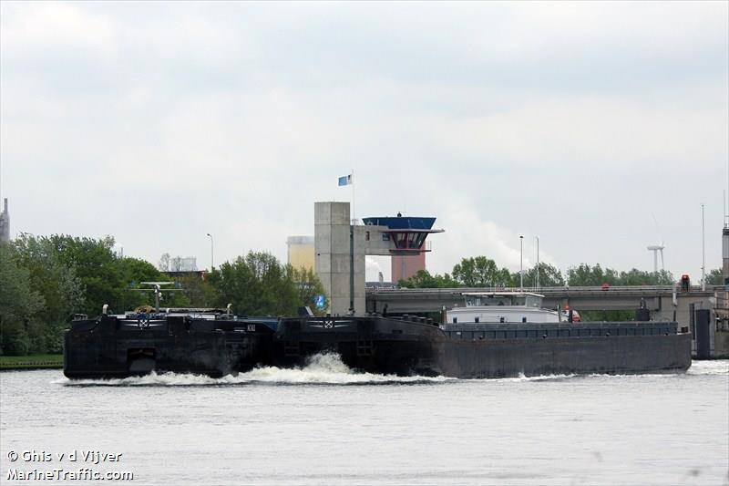 vessel ACALI IMO: 205375690,