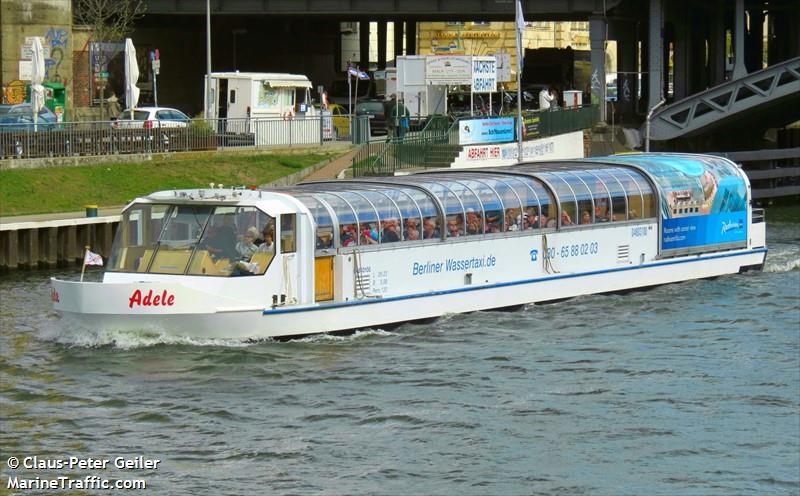 vessel ADELE IMO: 211534050,