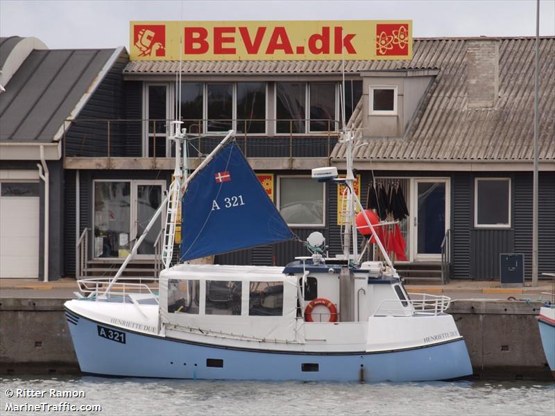 vessel A 321 HENRIETTE DUE IMO: 219000741,