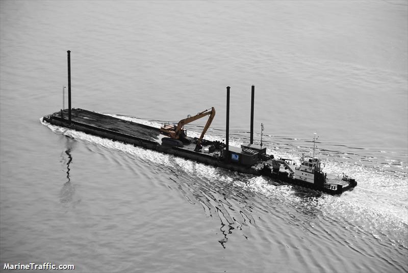 vessel AARSLEFF BARGE 104 IMO: 219003121,