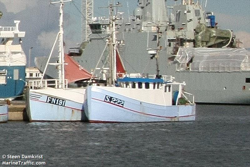 vessel A 421 JOMUS IMO: 219007432,