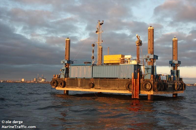 vessel AARSLEFF JACK 5 IMO: 219007937,