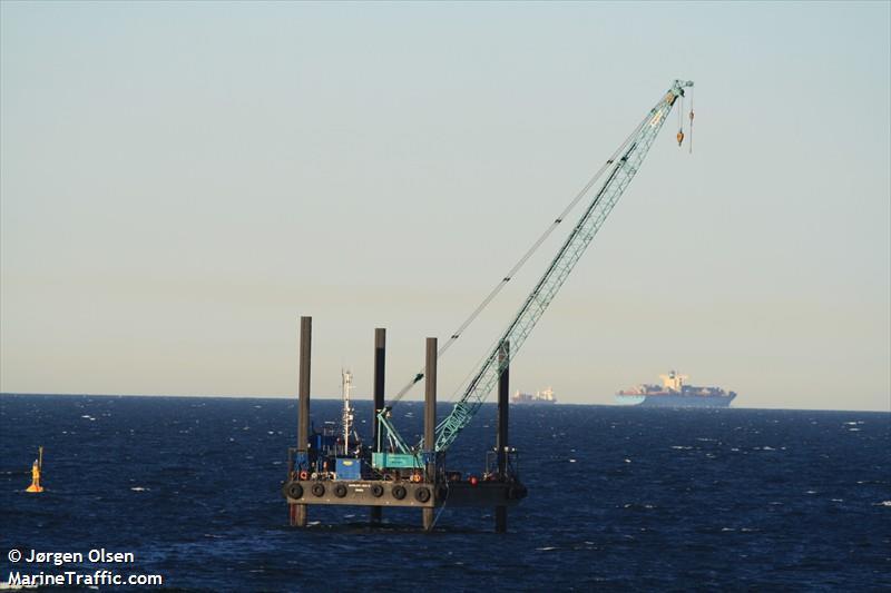 vessel AARSLEFF JACK VI IMO: 219013514,