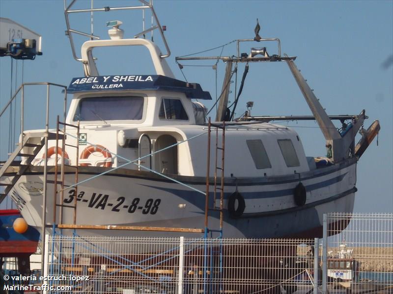 vessel ABEL Y SHEILA IMO: 224070630,