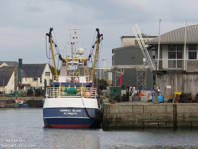 vessel ADMIRAL BLAKE IMO: 235002830,