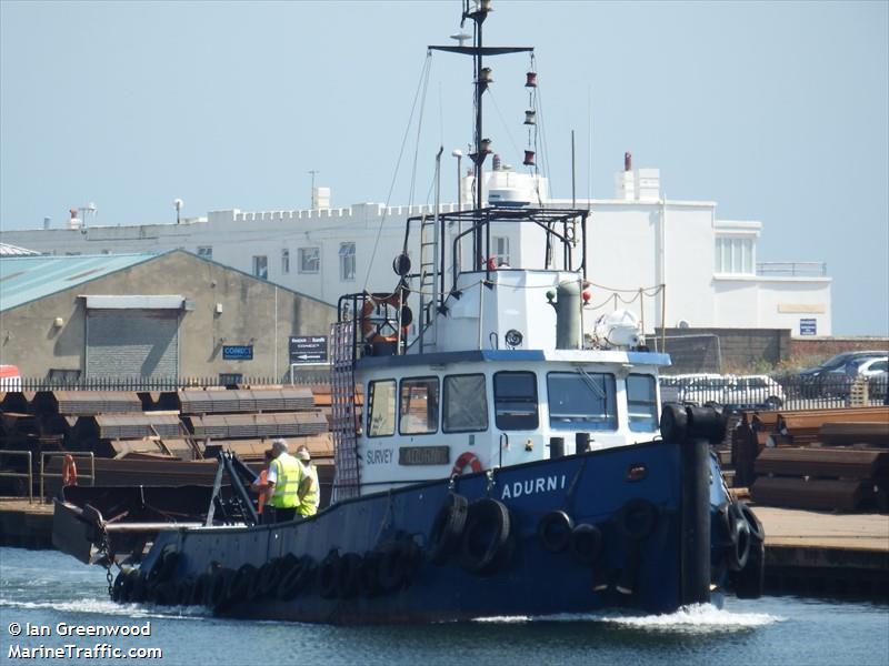 vessel ADURNI IMO: 235013278,