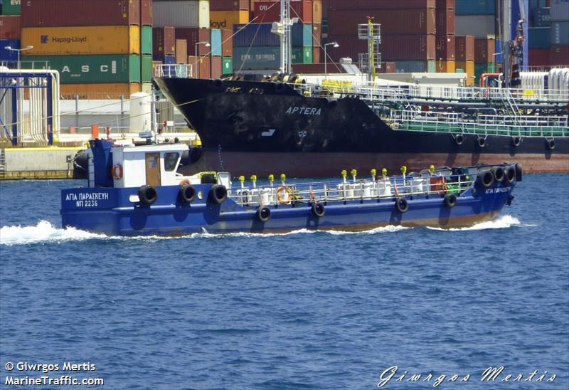 vessel AGIA PARASKEVI IMO: 237592400,