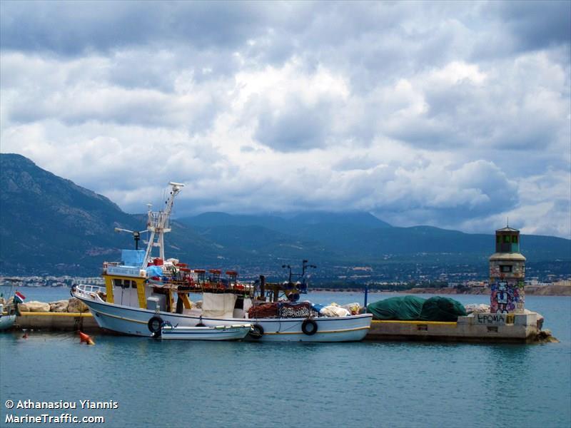 vessel AG.NIKOLAOS IMO: 239098000,
