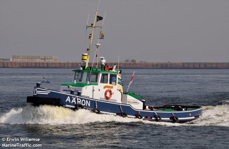 vessel AARON IMO: 244011542,