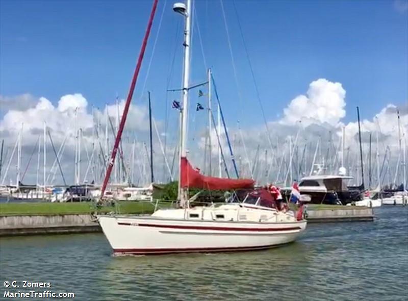 vessel AETATES IMO: 244020735,