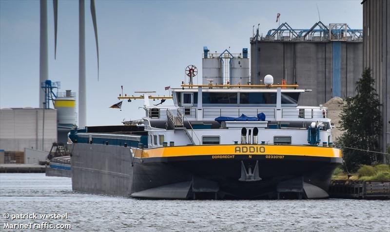 vessel ADDIO IMO: 244620701,