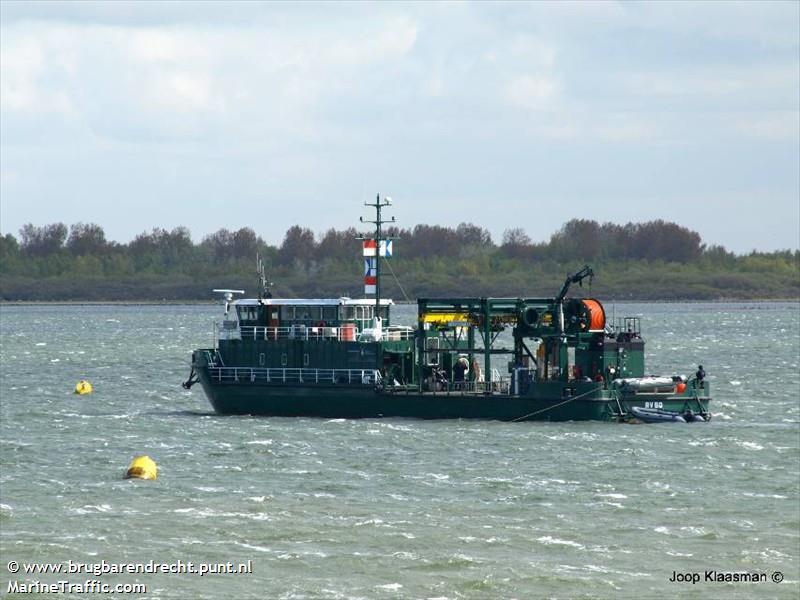 vessel A 850 SOEMBA IMO: 244650033,