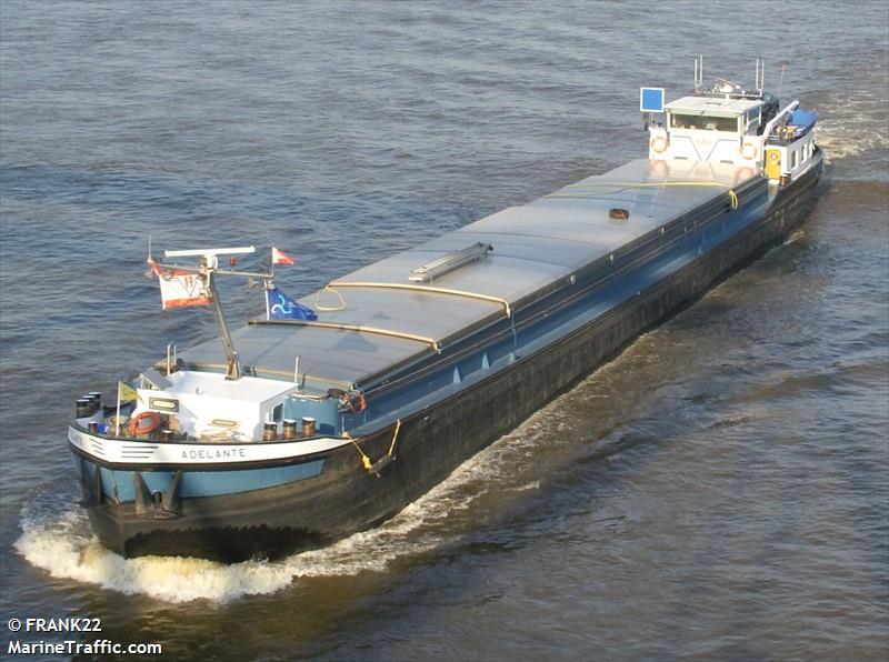 vessel ADELANTE IMO: 244650965,