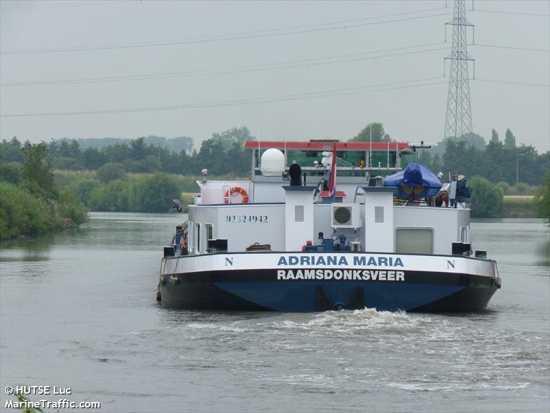 vessel ADRIANA MARIA IMO: 244670874,