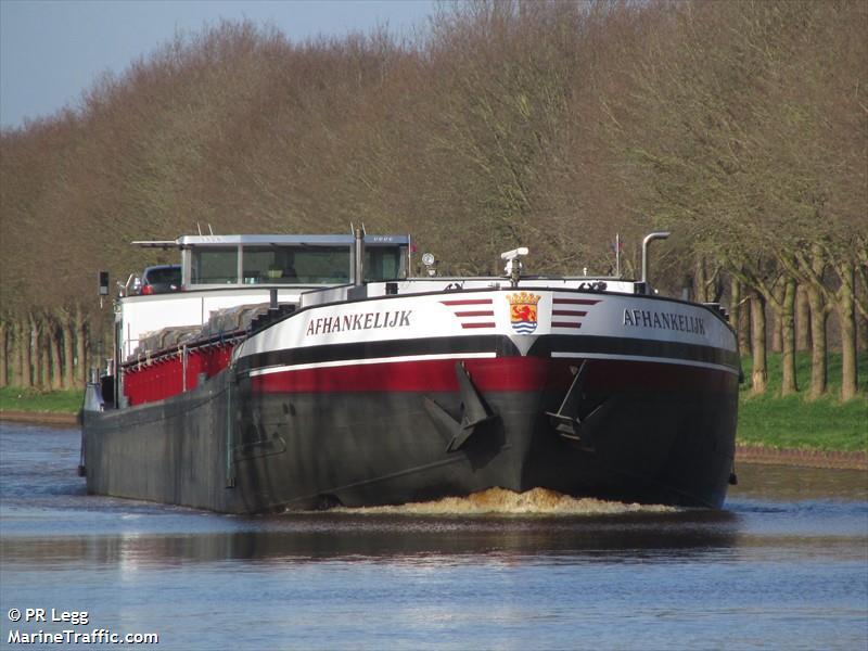 vessel AFHANKELIJK IMO: 244670877,