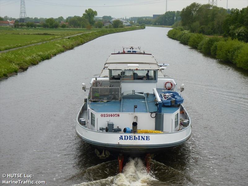 vessel ADELINE IMO: 244700553,