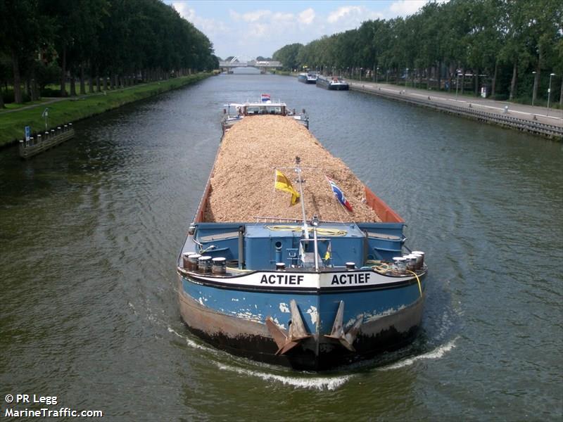vessel ACTIEF IMO: 244710190,