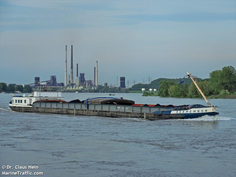 vessel AGAMEMNON IMO: 244750355,