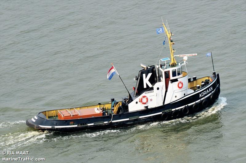 vessel ADRIAAN IMO: 244770332,
