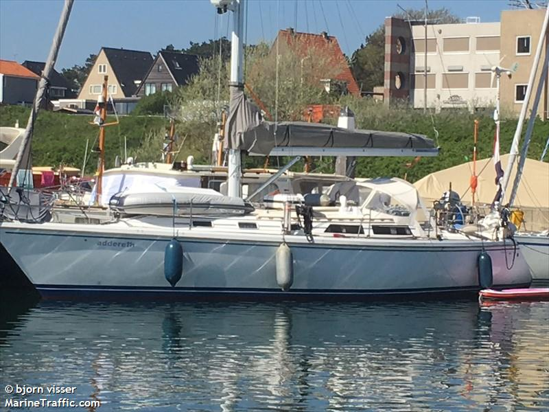 vessel ADDERETH IMO: 244770913,