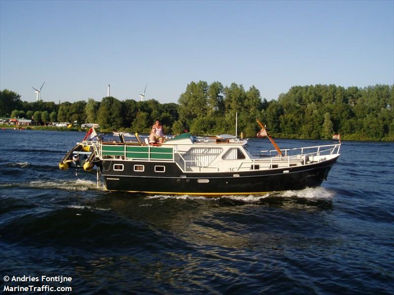 vessel ABRAHAM J IMO: 244780440,