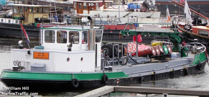 vessel ACTIEF IMO: 244780453,