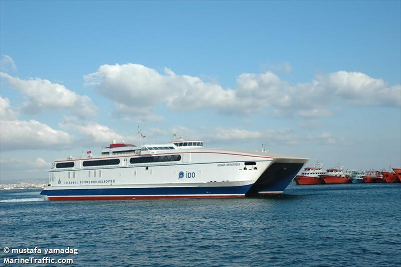 vessel ADNAN MENDERES IMO: 271000538,