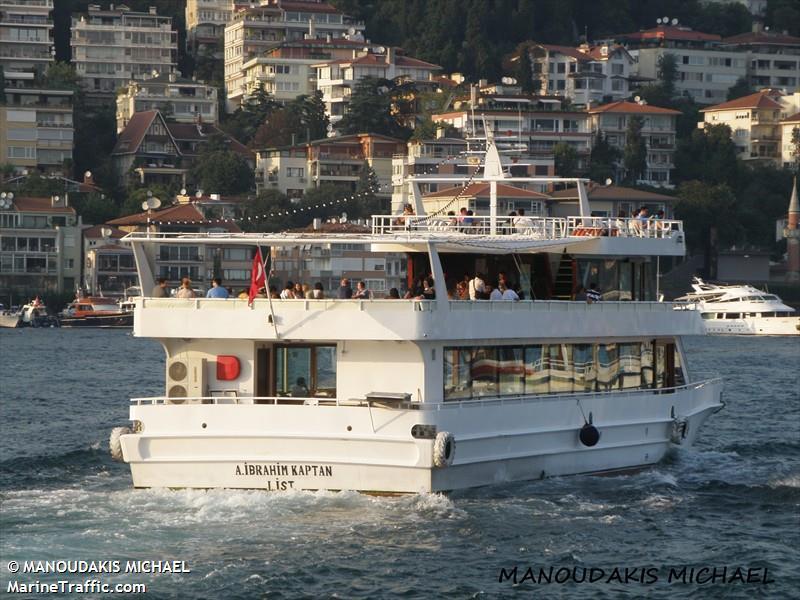 vessel A.IBRAHIM KAPTAN IMO: 271010339,