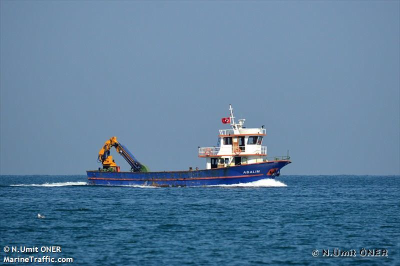 vessel ABALIM IMO: 271042505,