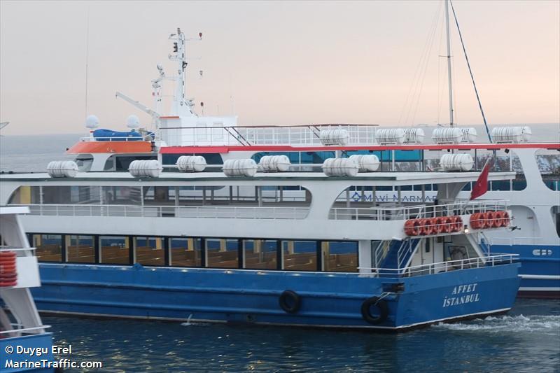 vessel AFFET IMO: 271042609,