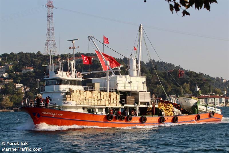 vessel AGAOGULLARI 5 IMO: 271072163,
