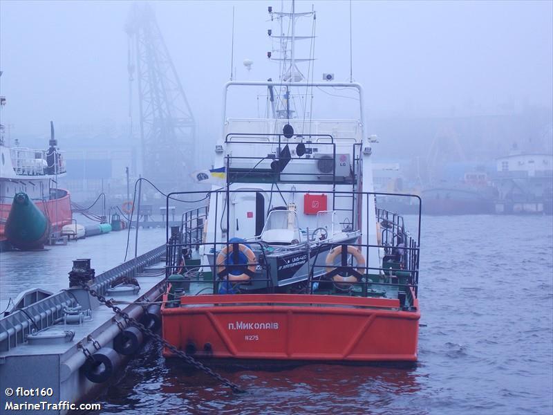 vessel A.LISENKO IMO: 272069700,