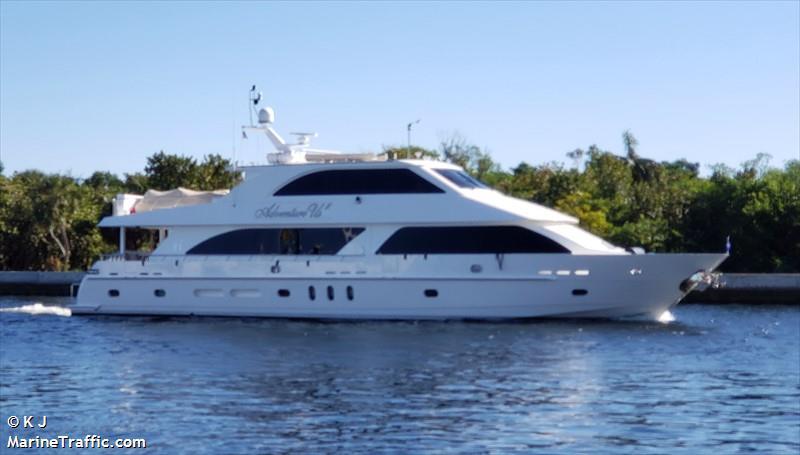 vessel ADVENTURE US II IMO: 319123200,