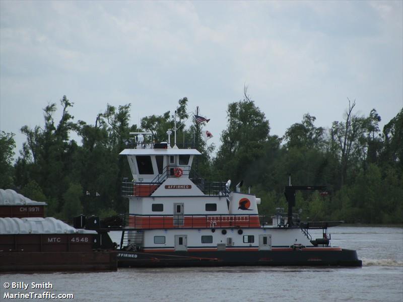 vessel AFFIRMED IMO: 367402820,