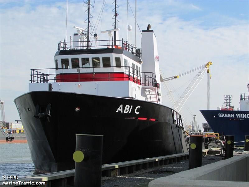 vessel ABI C IMO: 367602710,