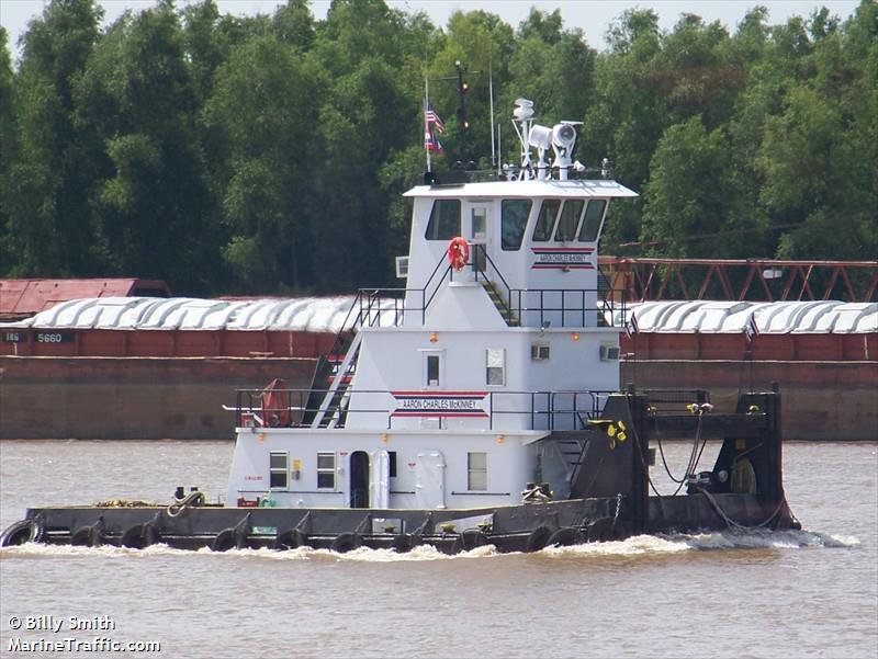 vessel AARONCHARLESMCKINNEY IMO: 367669940,