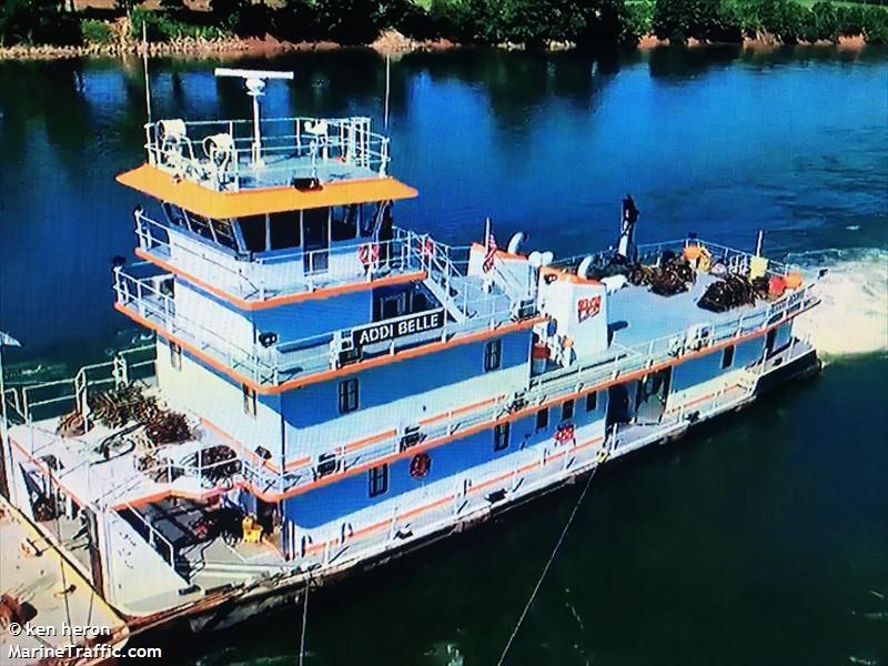 vessel ADDI BELLE IMO: 367689760,
