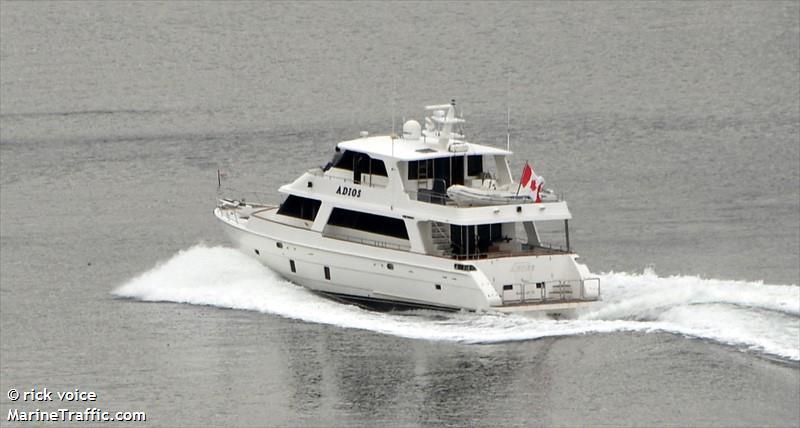 vessel ADIOS IMO: 378111498,