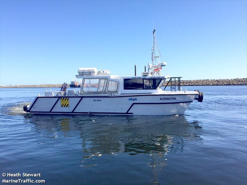 vessel ABWA AZIMUTH IMO: 503463400,