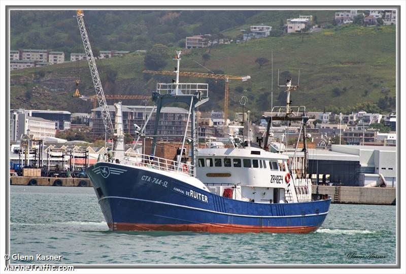 vessel ADMIRAAL DE RUITER IMO: 601770000,