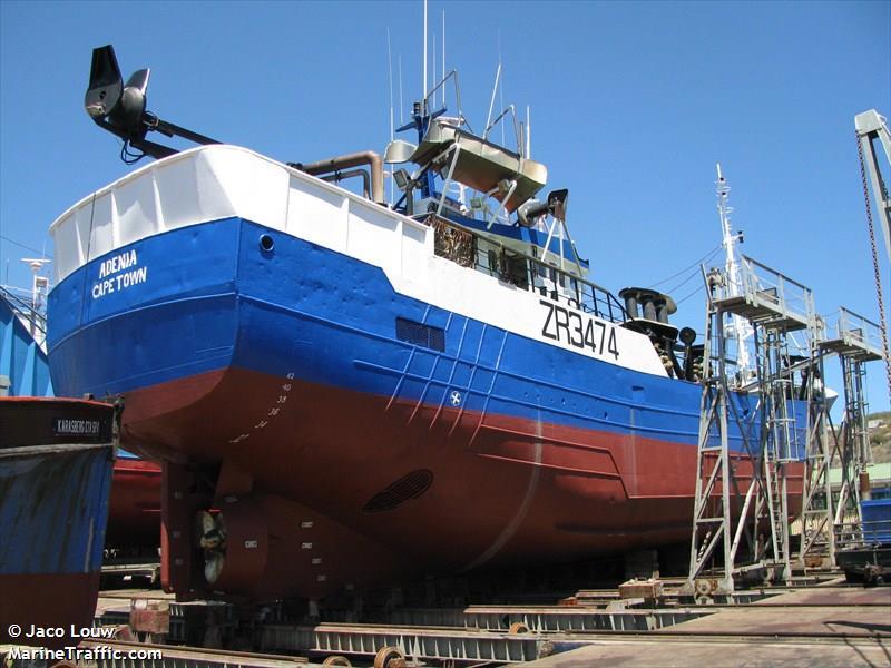 vessel ADENIA IMO: 601791000,