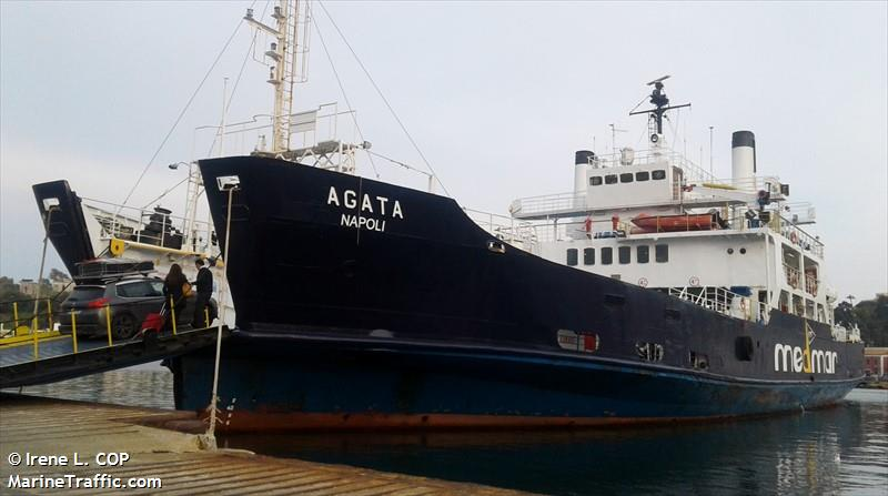 vessel AGATA IMO: 7351020, RINA