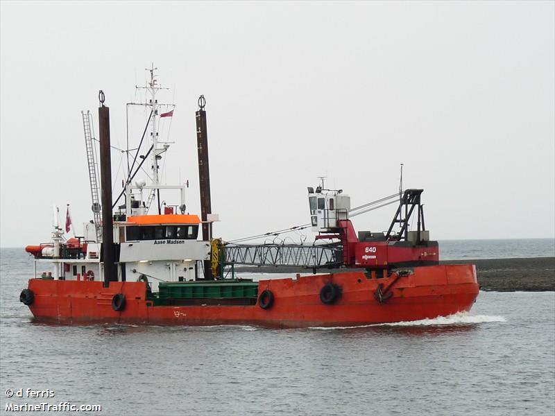 vessel AASE MADSEN IMO: 7731461,