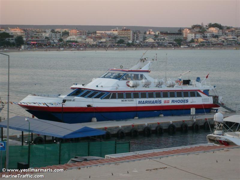 vessel AEGEAN JET IMO: 7922855,