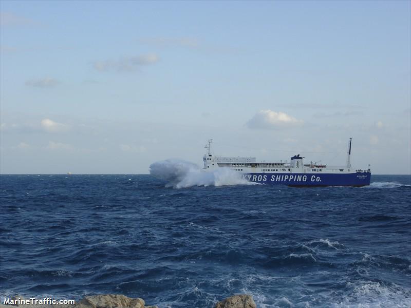 vessel ACHILLEAS IMO: 8711033, RINA