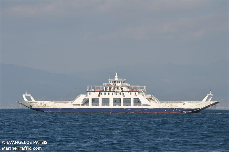 vessel AG NIKOLAOS L IMO: 8968911,