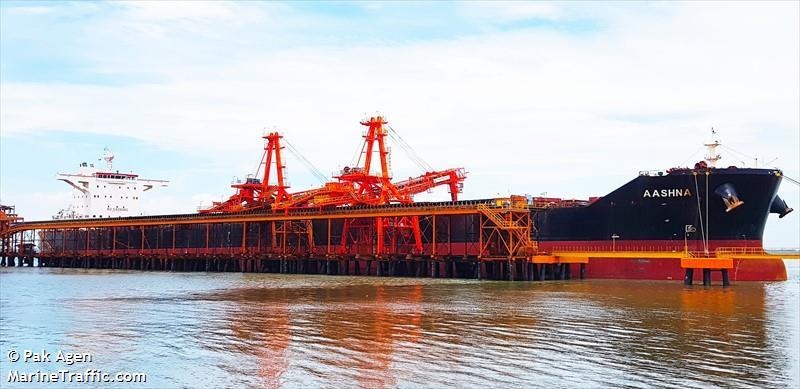 vessel AASHNA IMO: 9592458, LRS