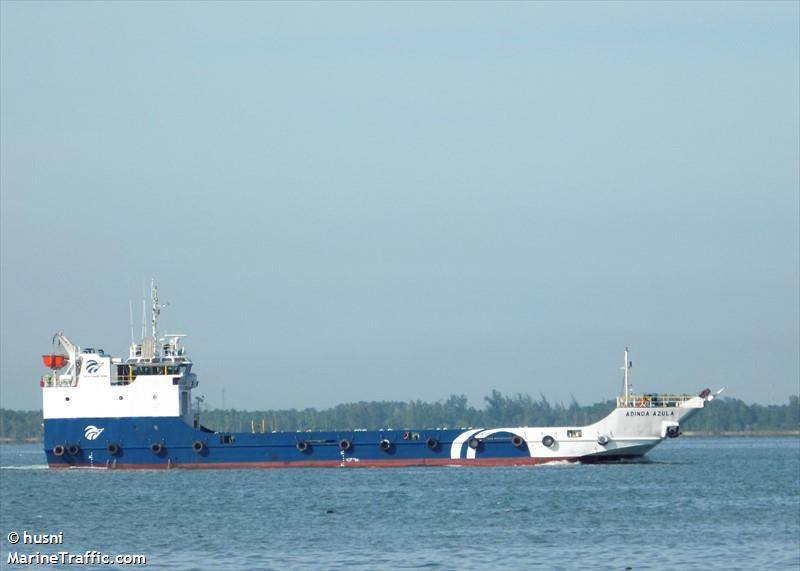 vessel ADINDA AZULA IMO: 9604055, BV