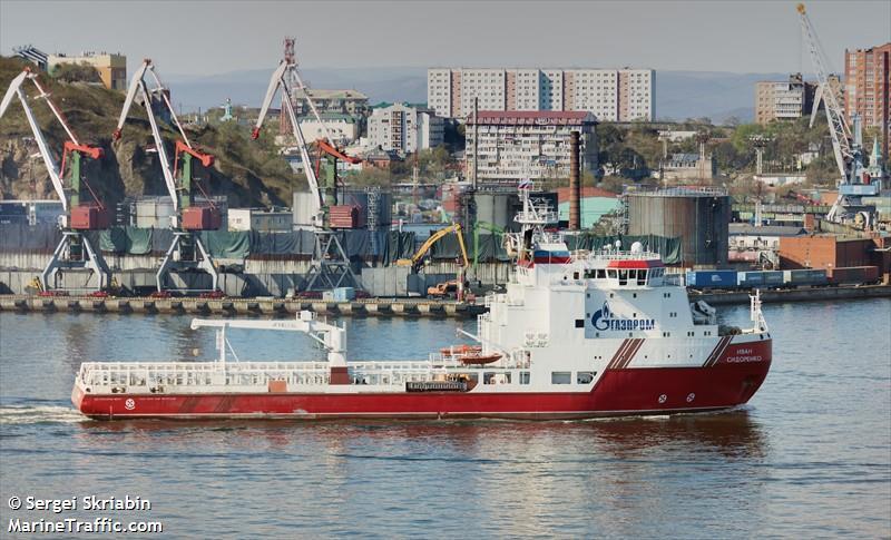 vessel IVAN SIDORENKO IMO: 9624213, Supply Ship